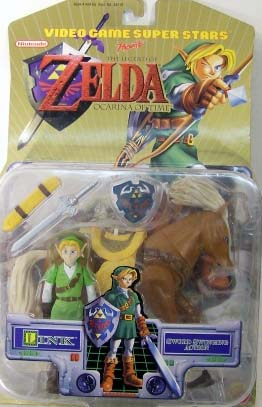 Link with Horse