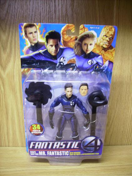 shape shifting Mr Fantastic