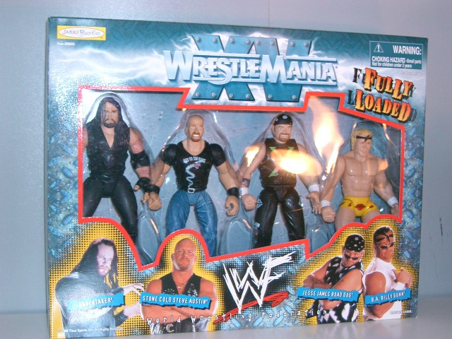 Fully Loaded: Undertaker, Stone Cold Steve Austin, Jesse James Road Dog, & Billy Gunn