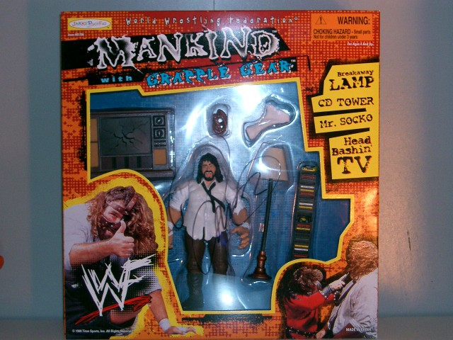 Mankind with Grapple Gear(Signed)