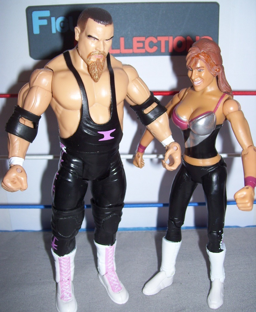 Jim Neidhart and Natalya Neidhart