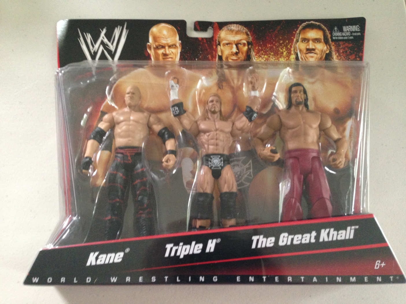 Kane Triple H and The Great Khali