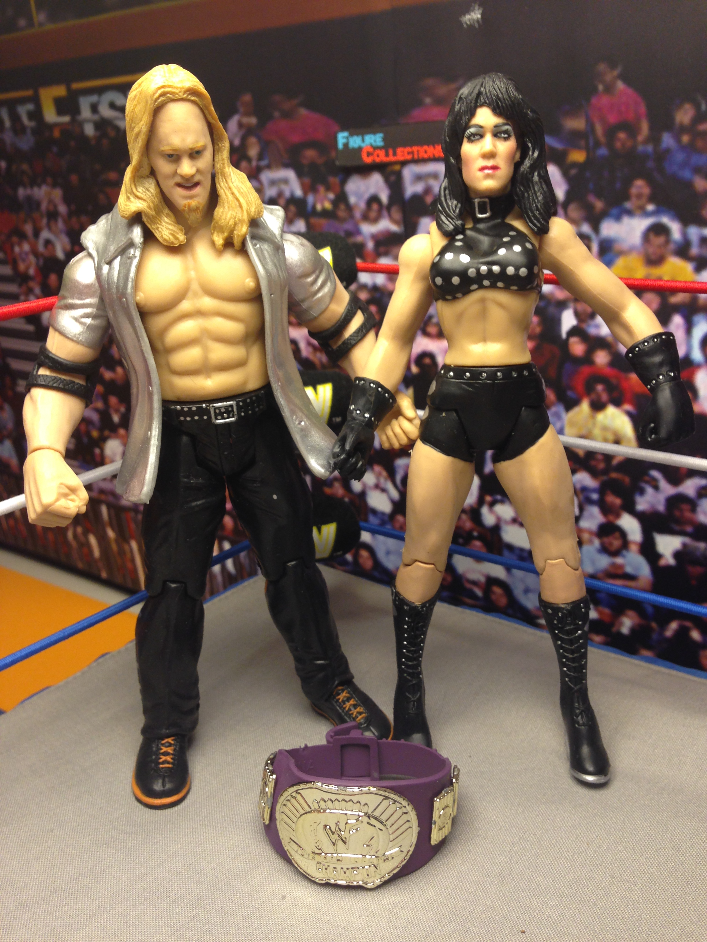 Chyna & Chris Jericho