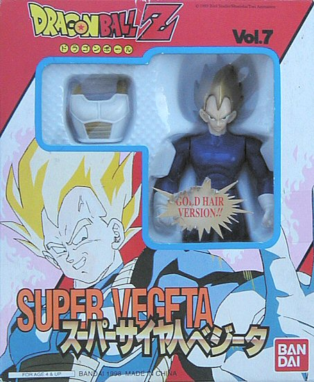 07: Super Vegeta (Gold Hair)