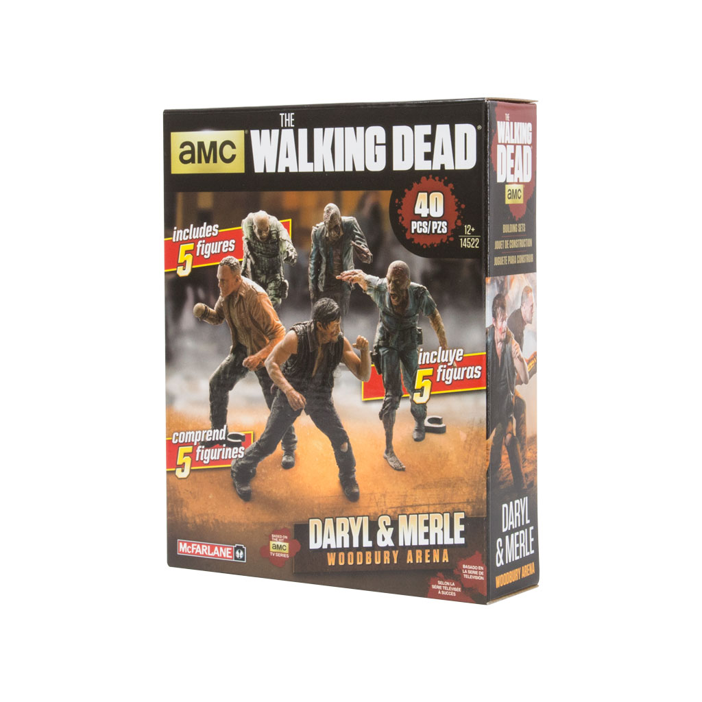 Merle and Daryl Arena Figure Pack