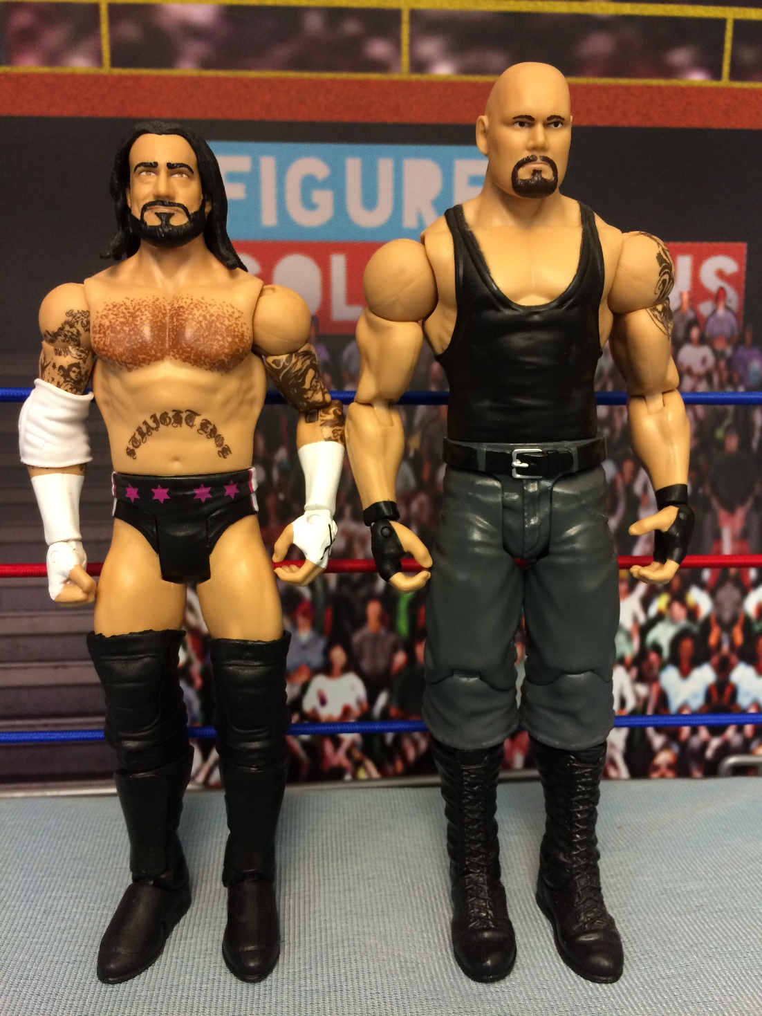 CM Punk and Luke Gallows