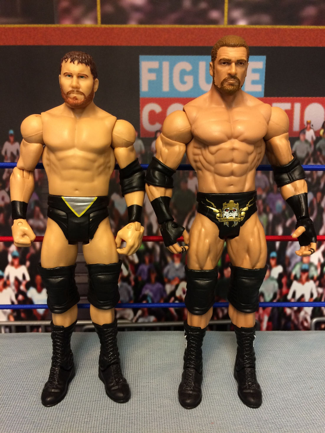 Triple H and Curtis Axel