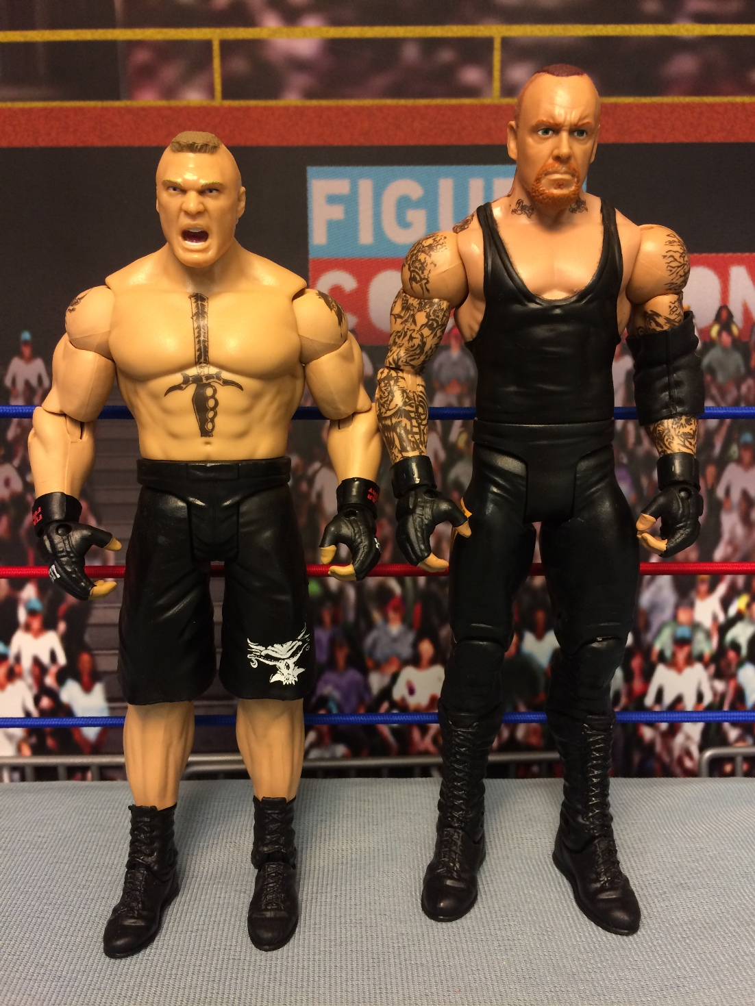 Brock Lesnar and Undertaker