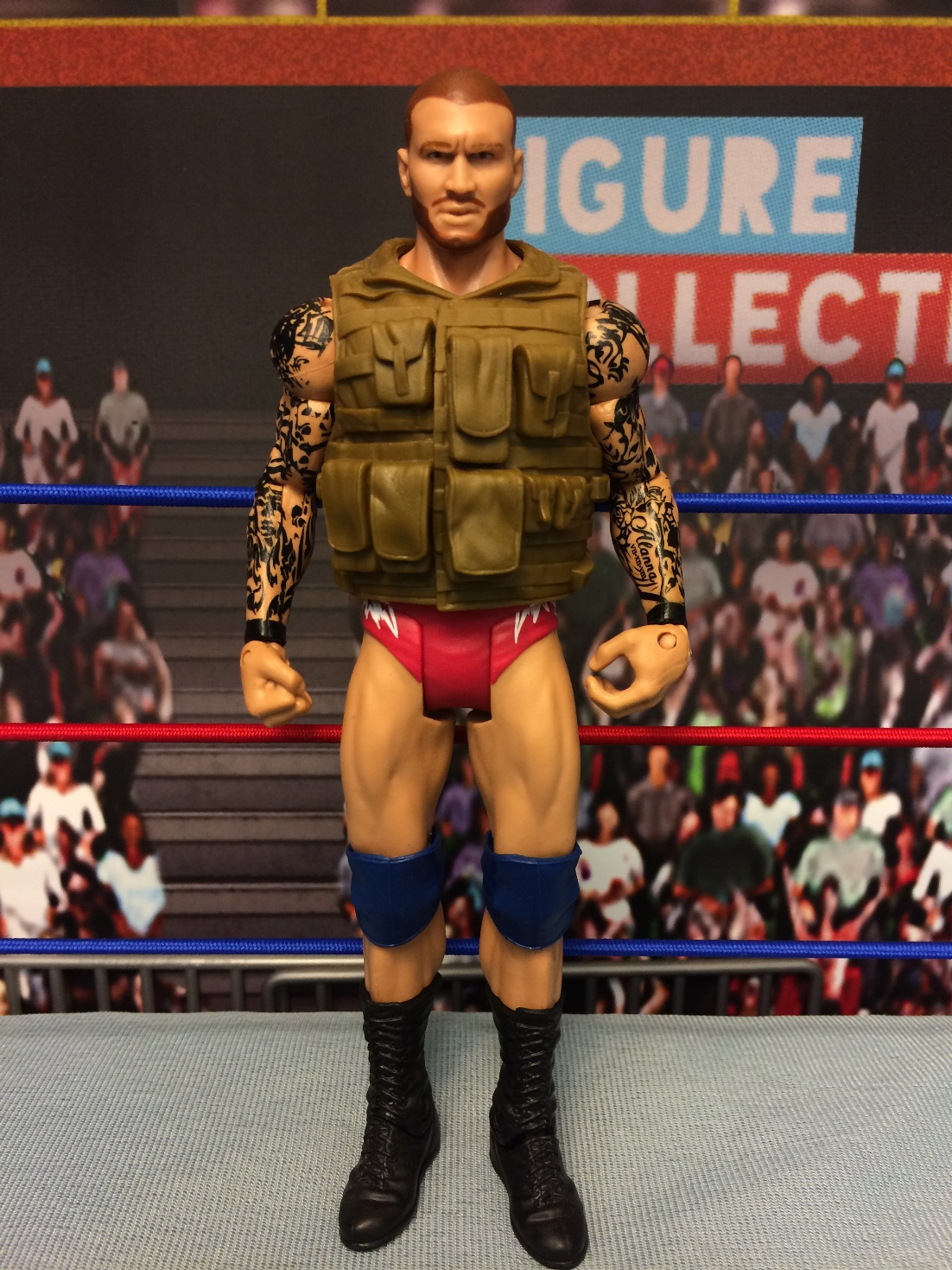 Randy Orton (With Brown Vest)