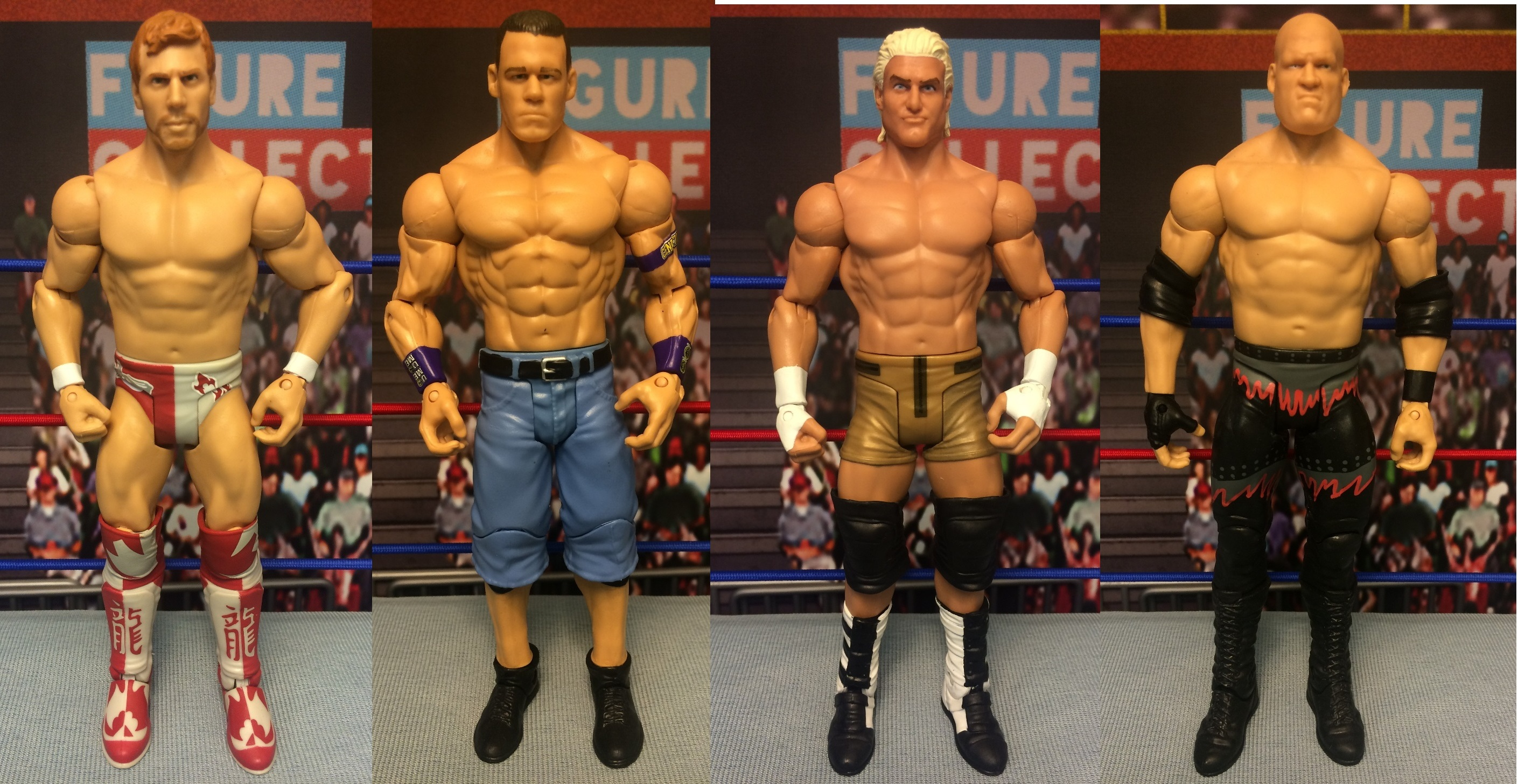 Champion Collection (Target Exclusive): Daniel Bryan, John Cena, Kane, Dolph Ziggler