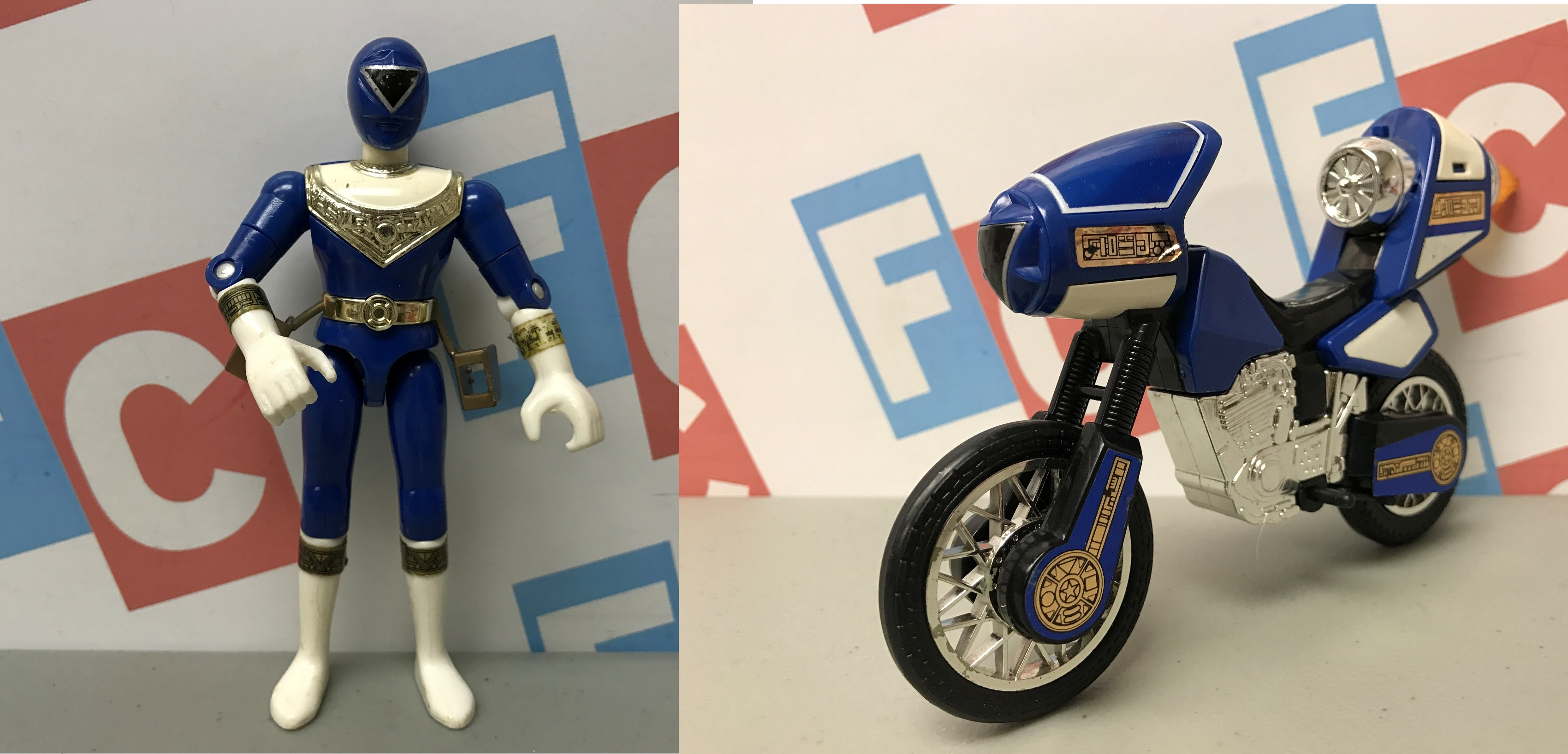 Blue Zeo Jet Cycle