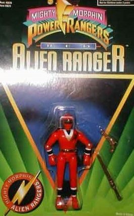 Alien Red Ranger
