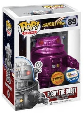 89 Robby the Robot Purple (Forbidden Planet)
