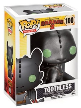 100 Toothless Metallic (How to Train Your Dragon 2)