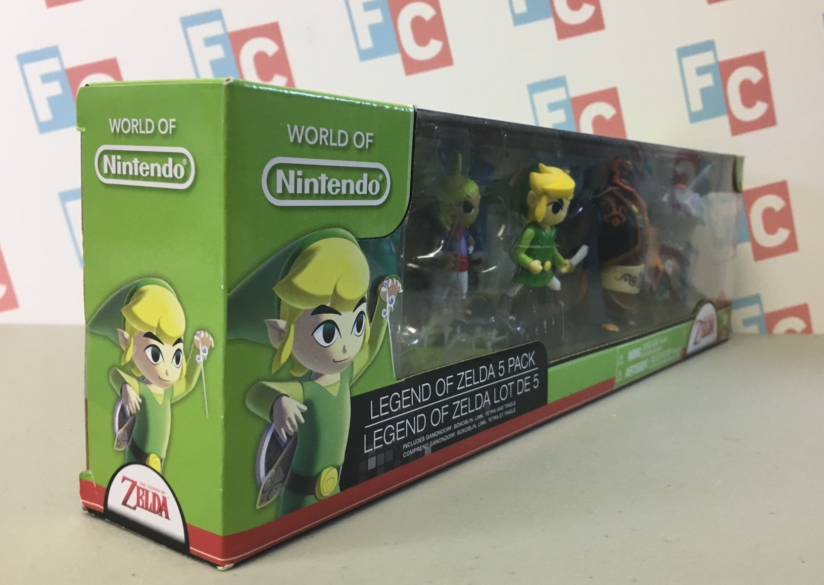 Legend of Zelda 5 Pack: Tingle, Tetra, Toon Link, Ganondorf, Bokoblin