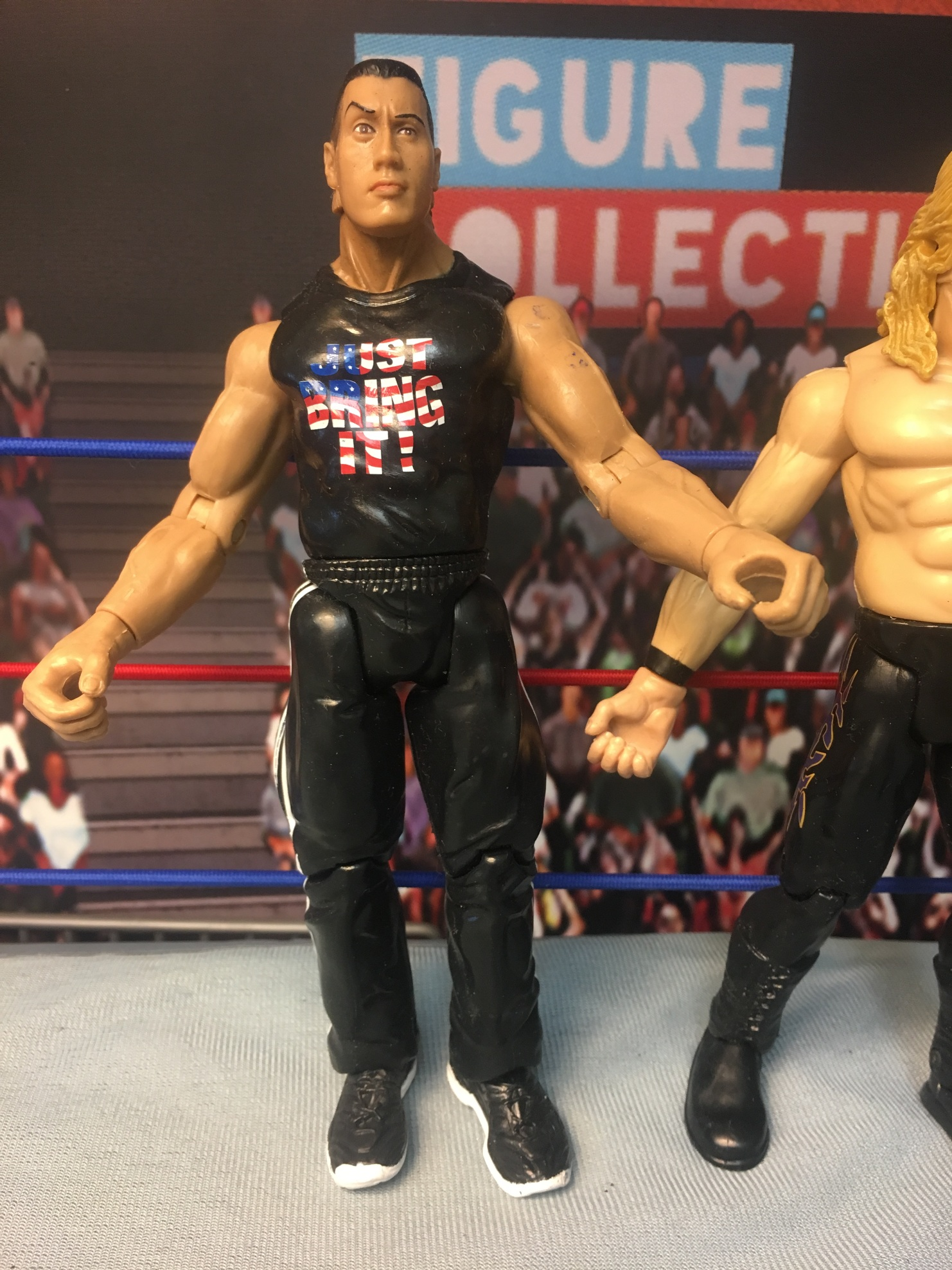 Chris Jericho vs The Rock