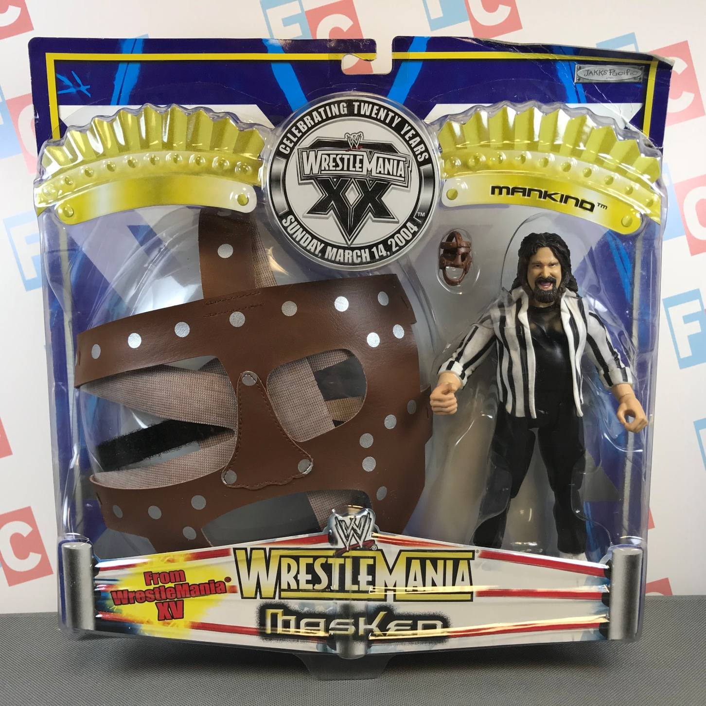 Mick Foley (TTL) with mask