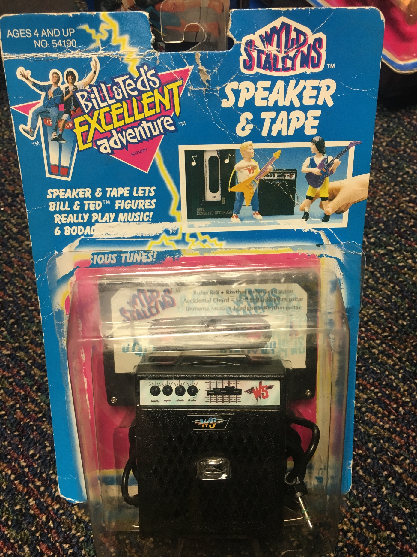 Speaker and Tape