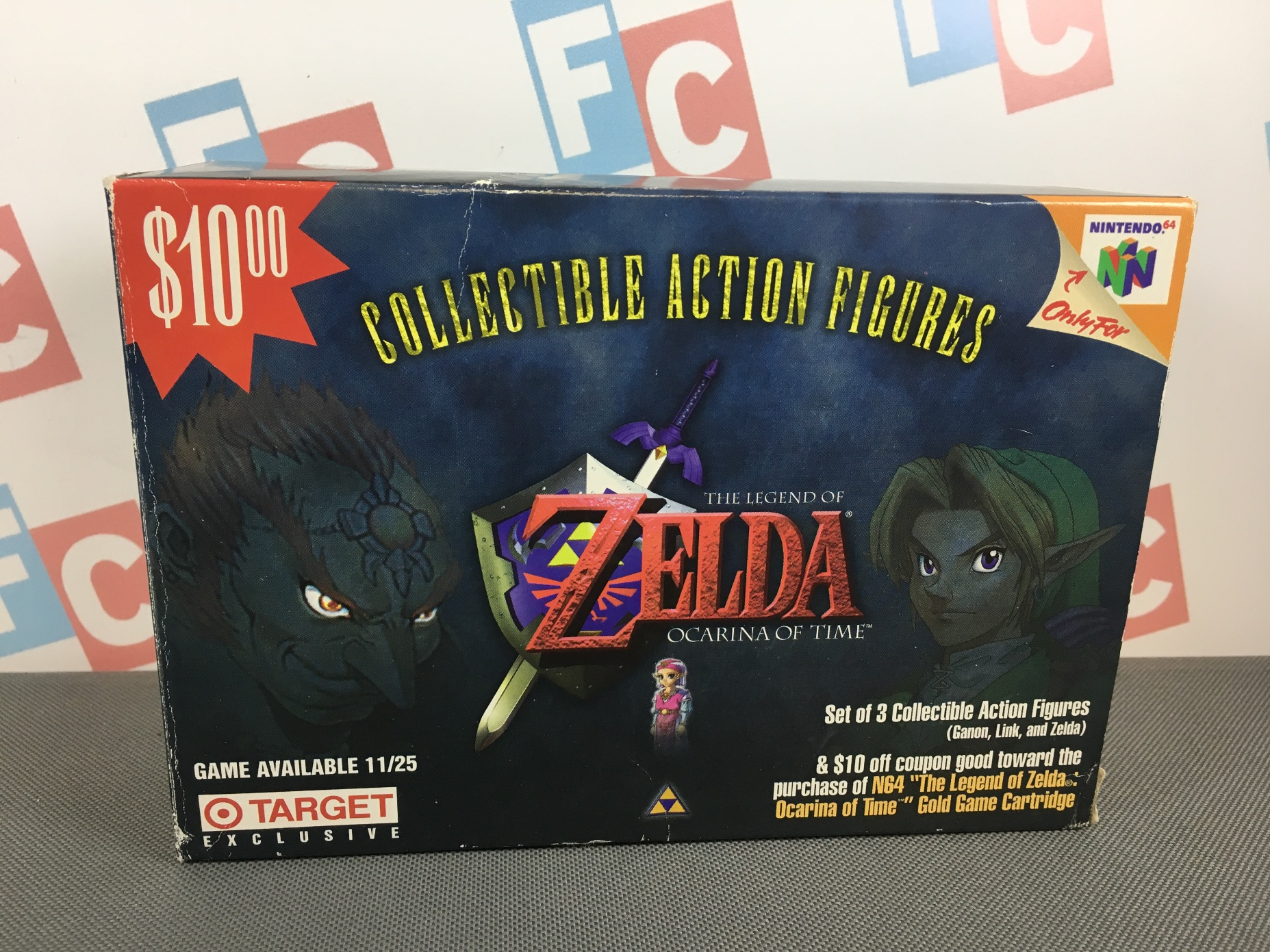 Ocarina of Time Box Set (Link, Zelda, Ganon Target Exclusive)