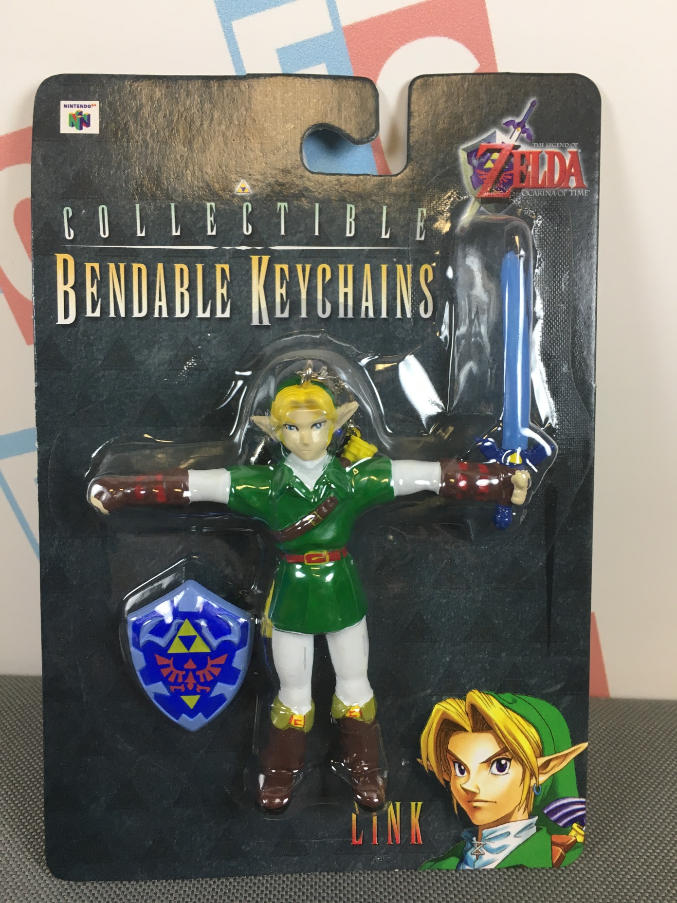 Link (Bendable Keychain)