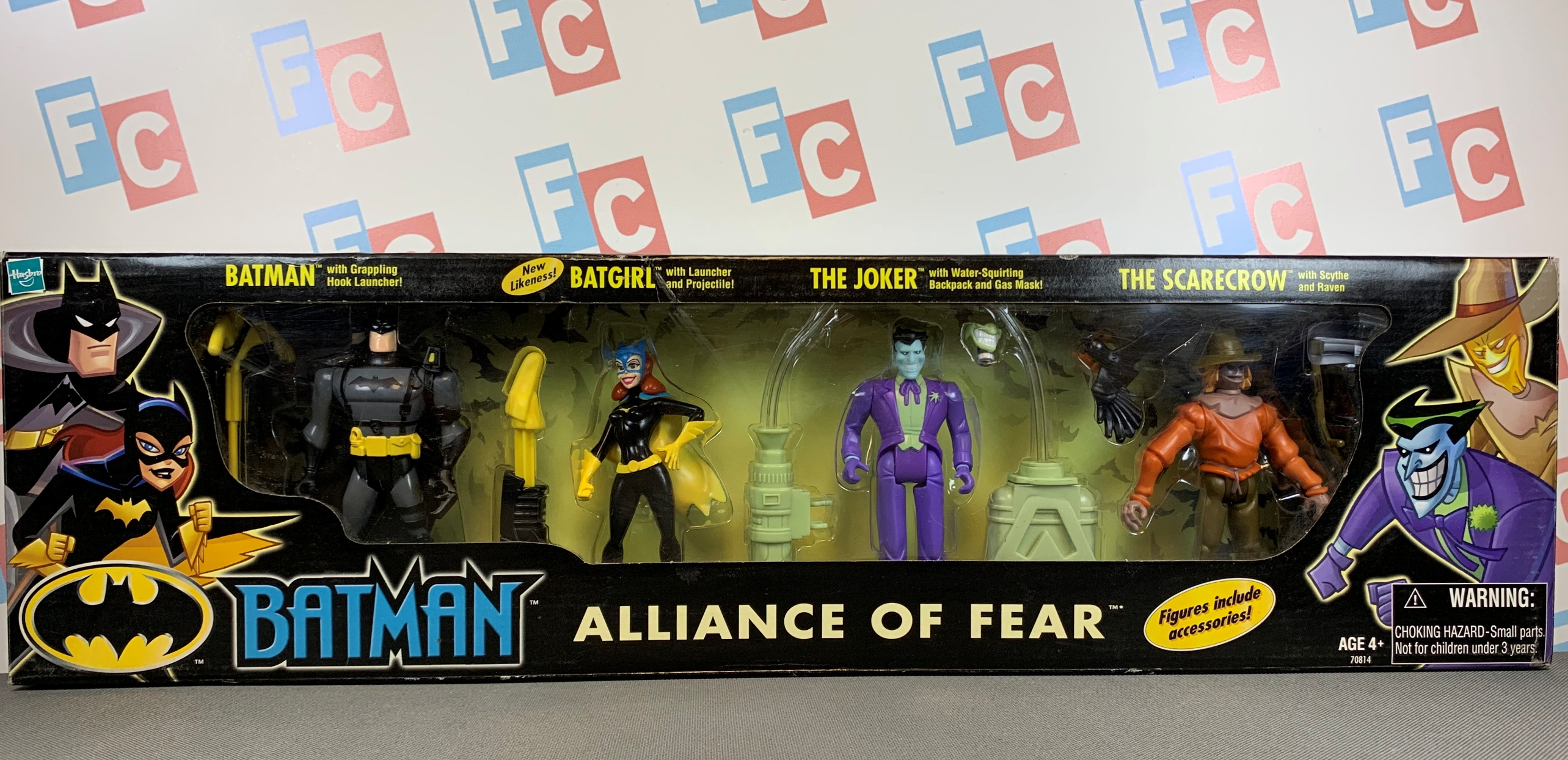 Alliance of Fear (Batman, Batgirl, The Joker, The Scarecrow)