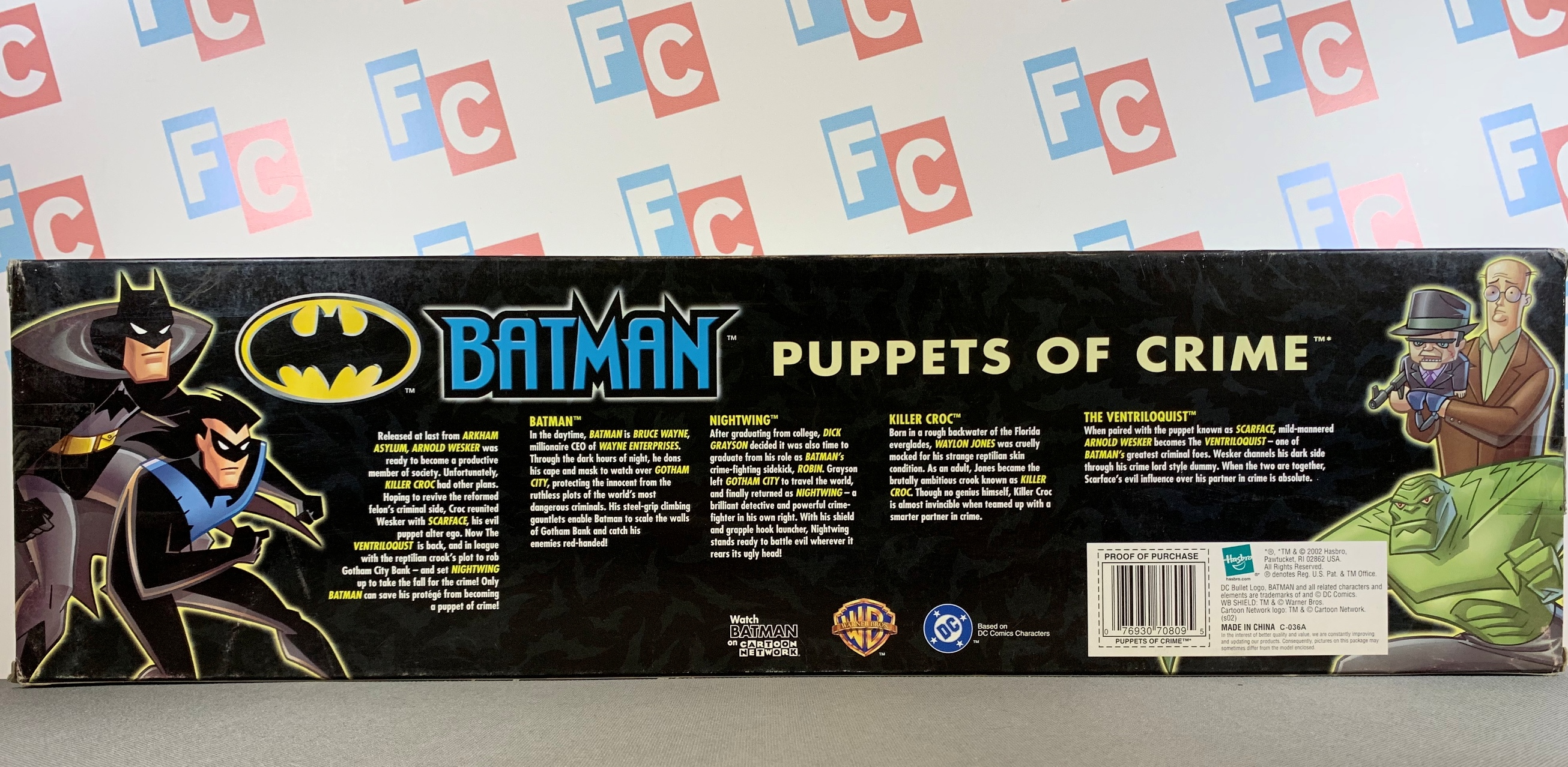 Puppets of Crime (Batman, Nightwing, Killer Croc, Ventriloquist with Scarface)