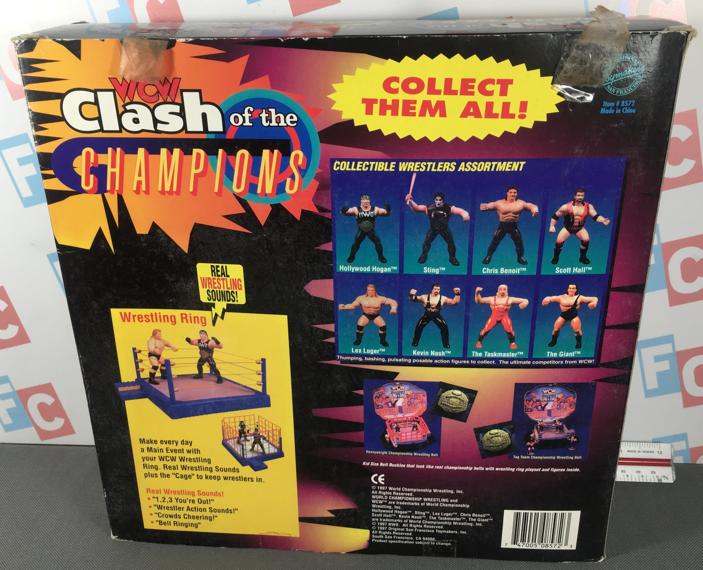 Clash of the Champions (Lex Luger & Scott Hall Box Set)