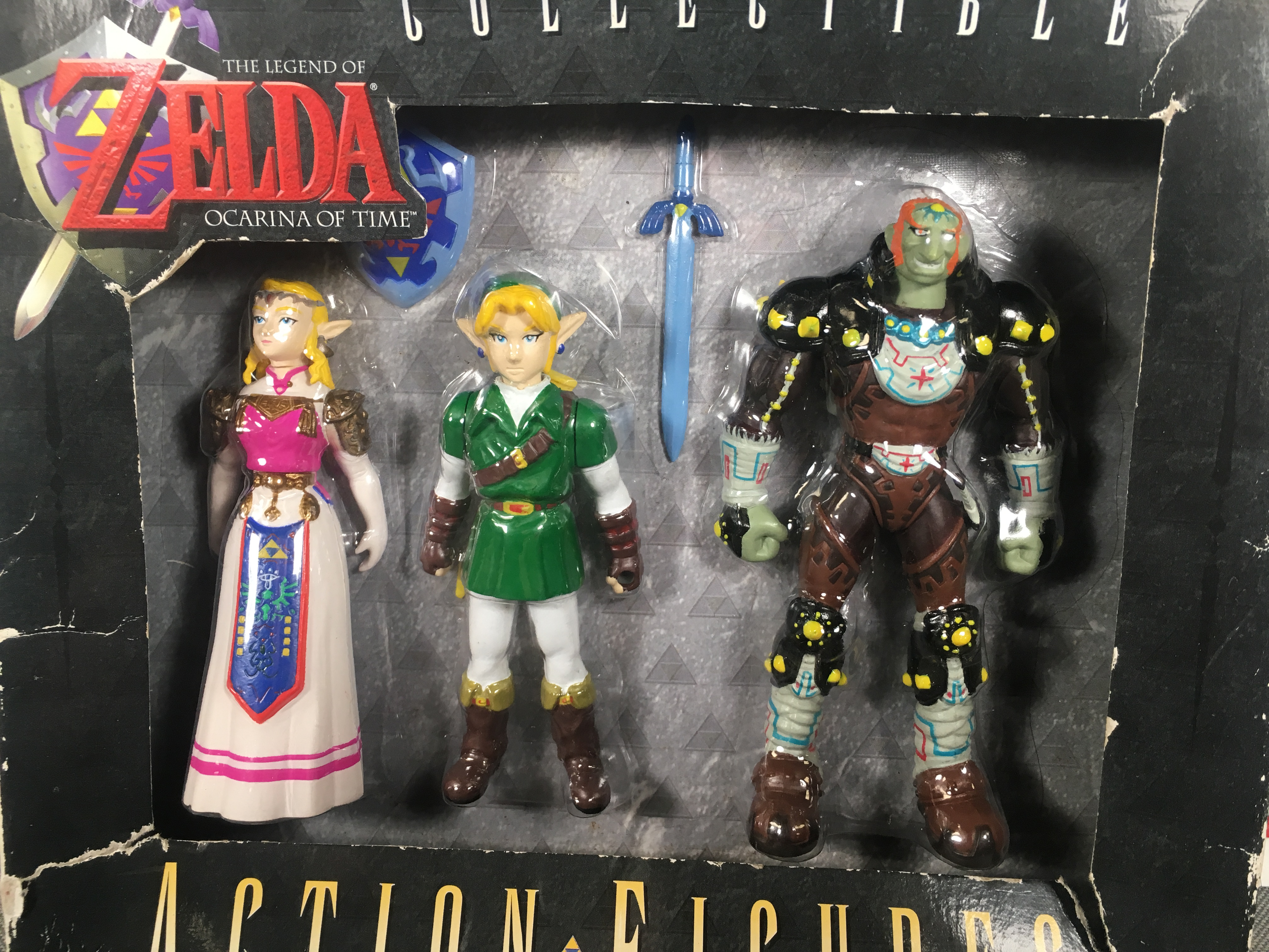 Collectible Figure Box Set (Ganondorf, Link, Zelda)
