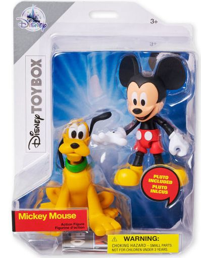 01 Mickey Mouse with Pluto