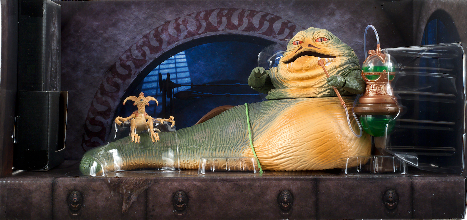 Jabba the Hutt with Throne Room (SDCC 2014)