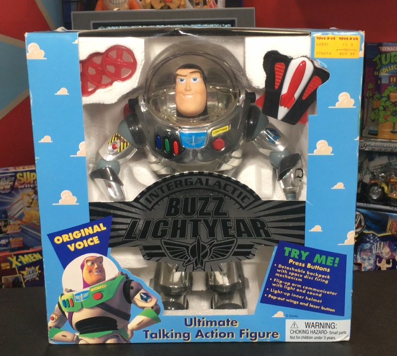 Deluxe Intergalactic Buzz Lightyear (3rd Edition)
