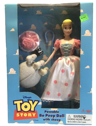 Bo Peep with Sheep