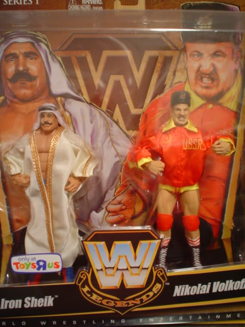 Iron Sheik and Nikolai Volkoff
