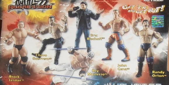 WWE Jakks Ruthless Aggression Series 1 Figures