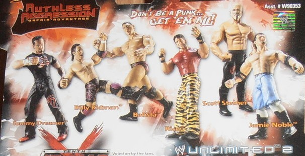 WWE Jakks Ruthless Aggression Series 2 Figures