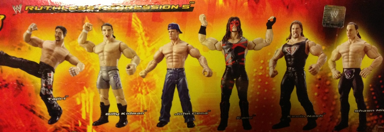 WWE Jakks Ruthless Aggression Series 5 Figures