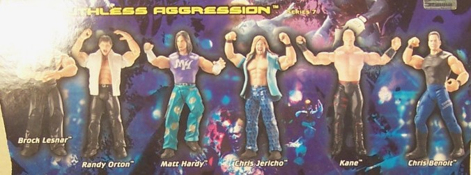 WWE Jakks Ruthless Aggression Series 7 Figures
