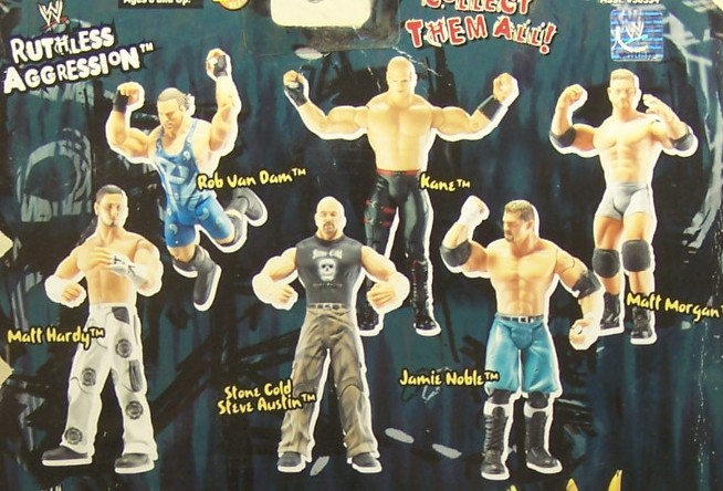 WWE Jakks Ruthless Aggression Series 9 Figures