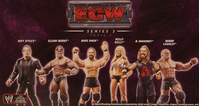 WWE Jakks Ruthless Aggression ECW Series 2 Figures