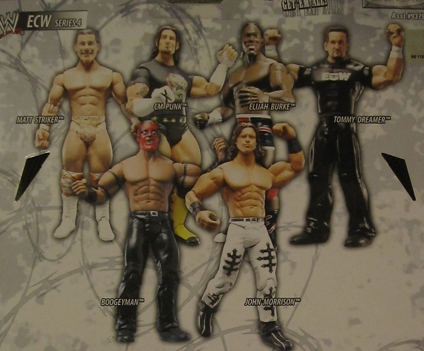 WWE Jakks Ruthless Aggression ECW Series 4 Figures