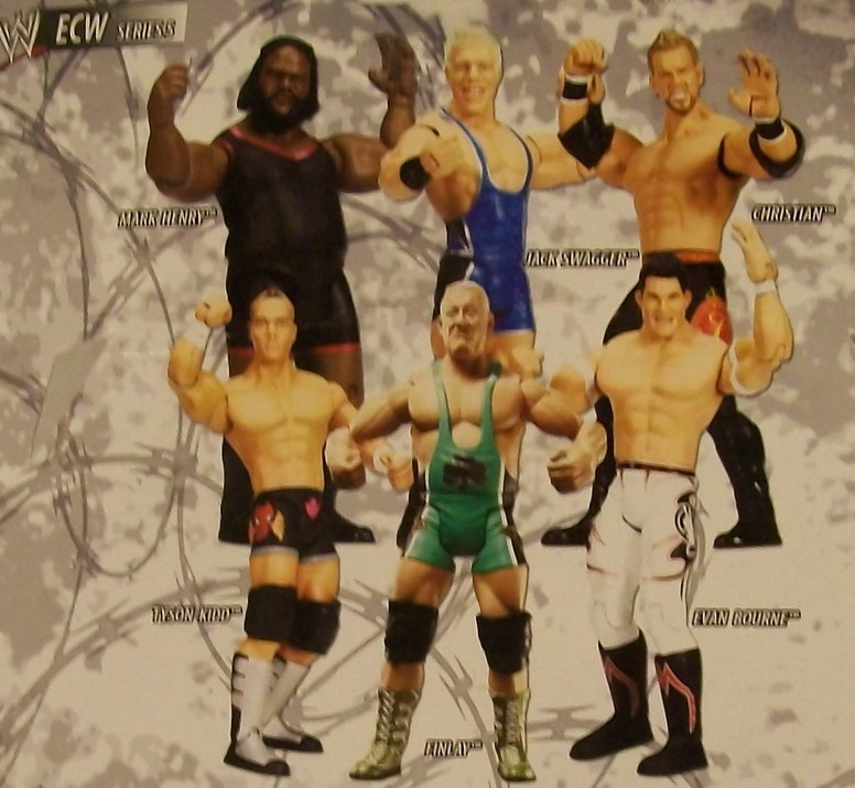 WWE Jakks Ruthless Aggression ECW Series 5 Figures