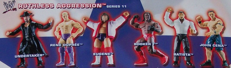 WWE Jakks Ruthless Aggression Series 11 Figures