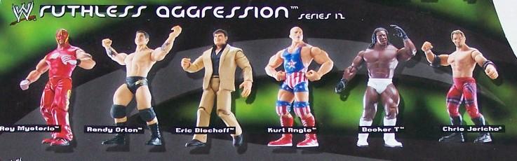 WWE Jakks Ruthless Aggression Series 12 Figures