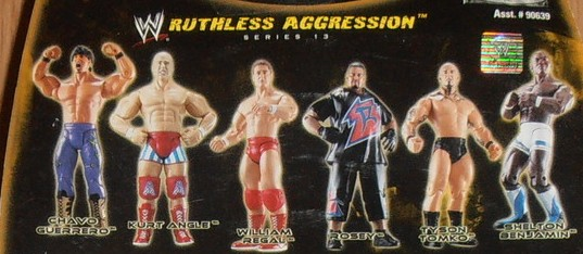 WWE Jakks Ruthless Aggression Series 13 Figures