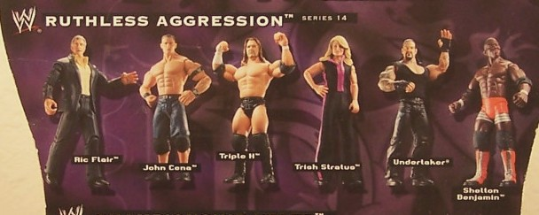 WWE Jakks Ruthless Aggression Series 14 Figures