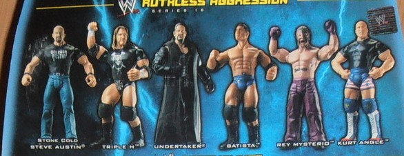 WWE Jakks Ruthless Aggression Series 16 Figures
