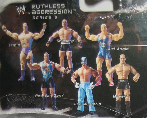WWE Jakks Ruthless Aggression Series 6 Figures