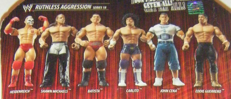 WWE Jakks Ruthless Aggression Series 18 Figures