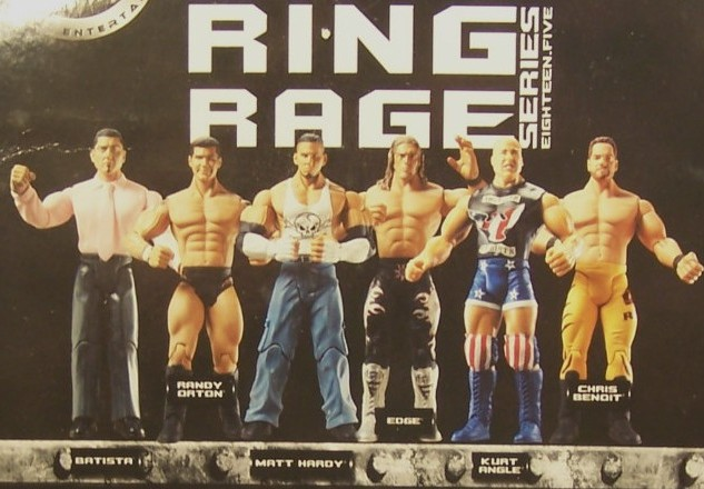 WWE Jakks Ruthless Aggression Series 18.5 Figures