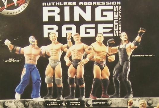 WWE Jakks Ruthless Aggression Series 18.5 Figures